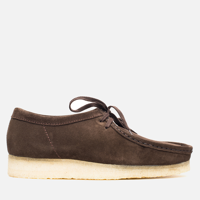 Мужские ботинки Clarks Originals Wallabee Dark Brown Suede