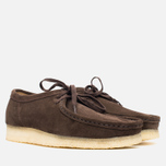 Clarks Originals Wallabee Men's Shoes Dark Brown Suede photo- 1