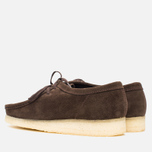 Мужские ботинки Clarks Originals Wallabee Dark Brown Suede фото- 2