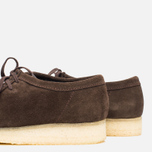 Мужские ботинки Clarks Originals Wallabee Dark Brown Suede фото- 7