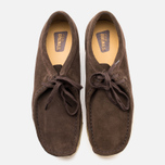 Clarks Originals Wallabee Men's Shoes Dark Brown Suede photo- 4