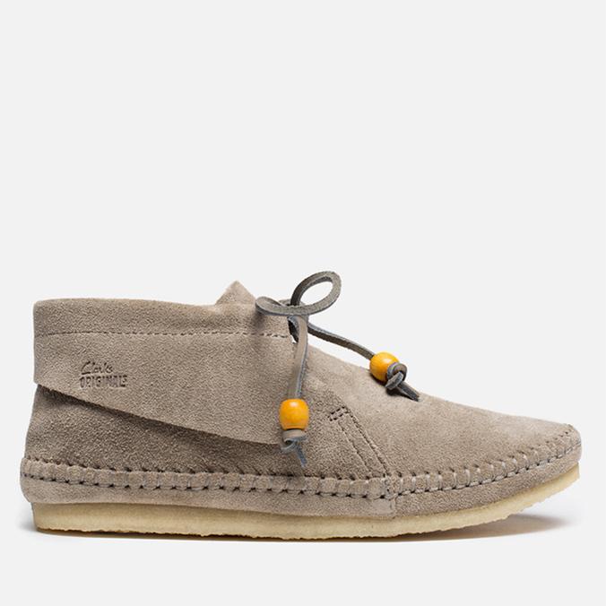 Женские ботинки Clarks Originals Tyler Weave Suede Sand