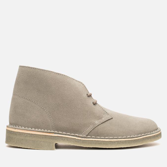Clarks Originals x Herschel Supply Co. Desert Boot Men's Shoes Grey Suede