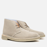 Мужские ботинки Clarks Originals x Herschel Supply Co. Desert Boot Grey Suede фото- 1