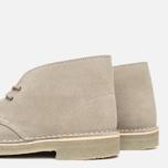 Clarks Originals x Herschel Supply Co. Desert Boot Men's Shoes Grey Suede photo- 5