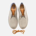 Clarks Originals x Herschel Supply Co. Desert Boot Men's Shoes Grey Suede photo- 4