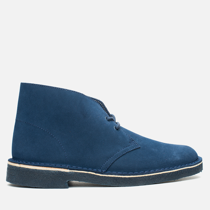 Мужские ботинки Clarks Originals x Herschel Supply Co. Desert Boot Navy Suede