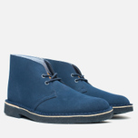 Мужские ботинки Clarks Originals x Herschel Supply Co. Desert Boot Navy Suede фото- 1