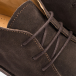 Fracap P310 Polacchina Suede Shoes Coffee photo- 6