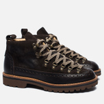 Мужские ботинки Fracap M130 Scarponcini Suede Dark Brown/Roccia Brown фото- 2