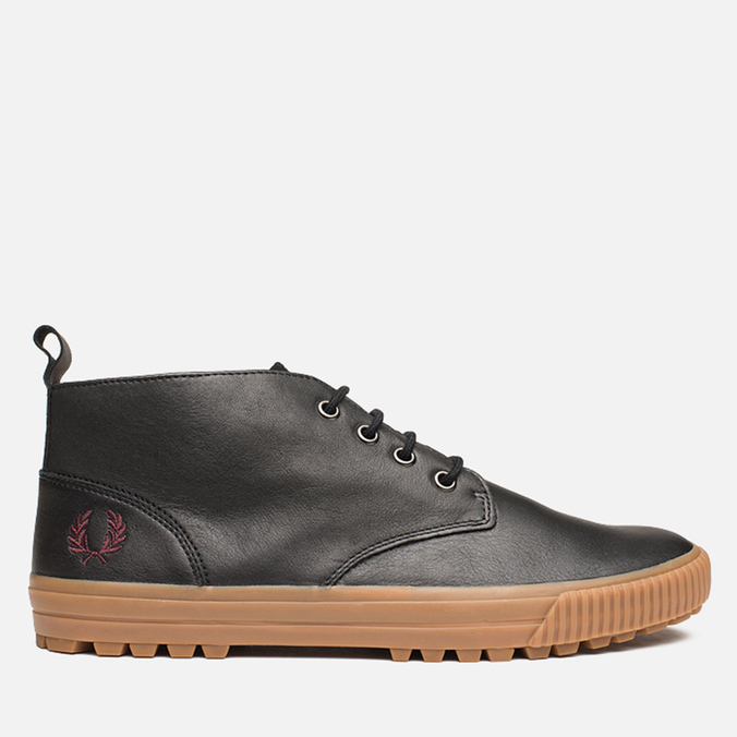 Мужские ботинки Fred Perry Bramhall Mid Black