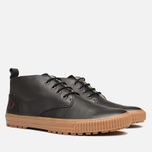 Мужские ботинки Fred Perry Bramhall Mid Black фото- 1