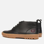 Мужские ботинки Fred Perry Bramhall Mid Black фото- 2