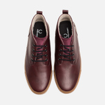 Fred Perry Bramhall Mid Shoes Oxblood photo- 4