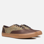 Fred Perry Clarence Plimsoles Dark Chocolate photo- 1