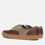 Fred Perry Clarence Plimsoles Dark Chocolate photo- 2