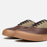 Fred Perry Clarence Plimsoles Dark Chocolate photo- 5