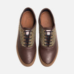 Fred Perry Clarence Plimsoles Dark Chocolate photo- 4