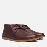 Fred Perry Claxton Shoes Mid Oxblood photo- 1