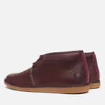 Fred Perry Claxton Shoes Mid Oxblood photo- 2