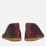 Fred Perry Claxton Shoes Mid Oxblood photo- 3