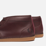 Fred Perry Claxton Shoes Mid Oxblood photo- 6