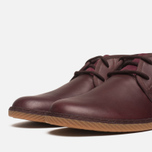 Fred Perry Claxton Shoes Mid Oxblood photo- 5