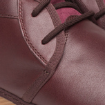 Fred Perry Claxton Shoes Mid Oxblood photo- 7