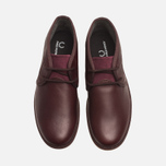 Fred Perry Claxton Shoes Mid Oxblood photo- 4
