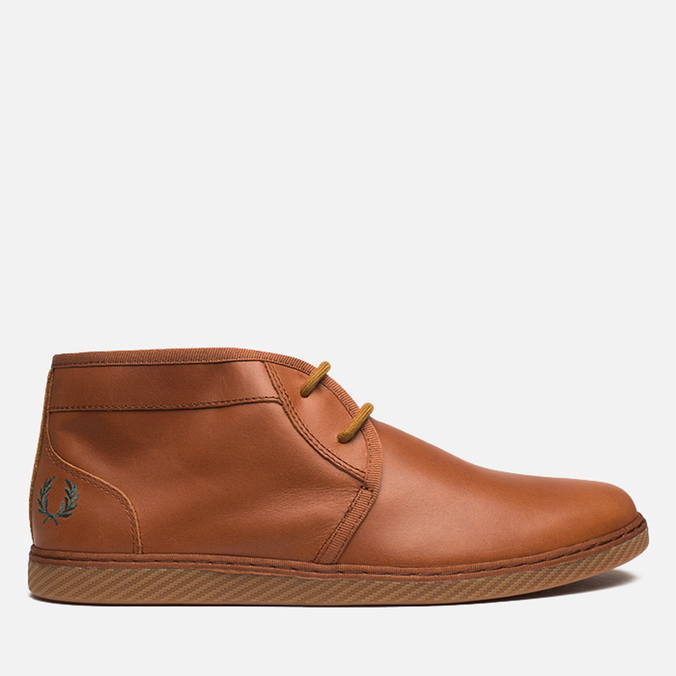 Fred Perry Claxton Shoes Mid Tan