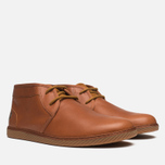Fred Perry Claxton Shoes Mid Tan photo- 1