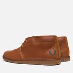 Fred Perry Claxton Shoes Mid Tan photo- 2