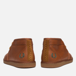 Fred Perry Claxton Shoes Mid Tan photo- 3
