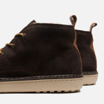 Мужские ботинки Fred Perry Clayton Waxy Suede Brown фото- 6