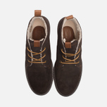 Мужские ботинки Fred Perry Clayton Waxy Suede Brown фото- 4