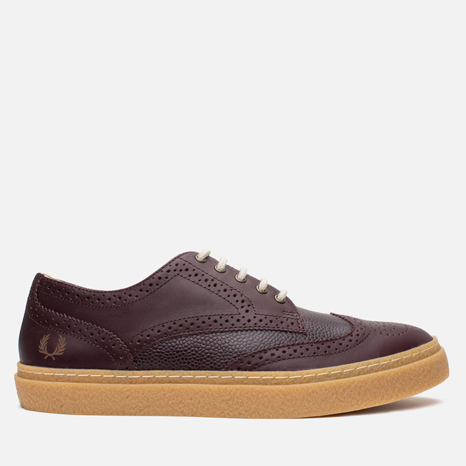 Мужские ботинки Fred Perry Davies Scotch Grain Leather Ox Blood