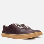 Мужские ботинки Fred Perry Davies Scotch Grain Leather Ox Blood фото- 1