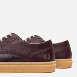 Мужские ботинки Fred Perry Davies Scotch Grain Leather Ox Blood фото- 7