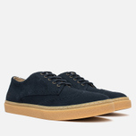 Fred Perry Davies Shoes Suede Navy photo- 1