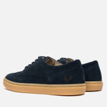 Fred Perry Davies Shoes Suede Navy photo- 2