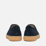 Fred Perry Davies Shoes Suede Navy photo- 3