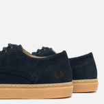 Fred Perry Davies Shoes Suede Navy photo- 7