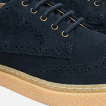 Fred Perry Davies Shoes Suede Navy photo- 5