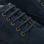 Fred Perry Davies Shoes Suede Navy photo- 6