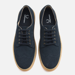 Fred Perry Davies Shoes Suede Navy photo- 4