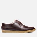 Мужские ботинки Fred Perry Eton Leather Tan фото- 0