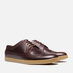 Мужские ботинки Fred Perry Eton Leather Tan фото- 1