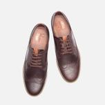 Мужские ботинки Fred Perry Eton Leather Tan фото- 4