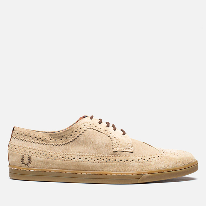 Fred Perry x Drake's Eton Suede Desert