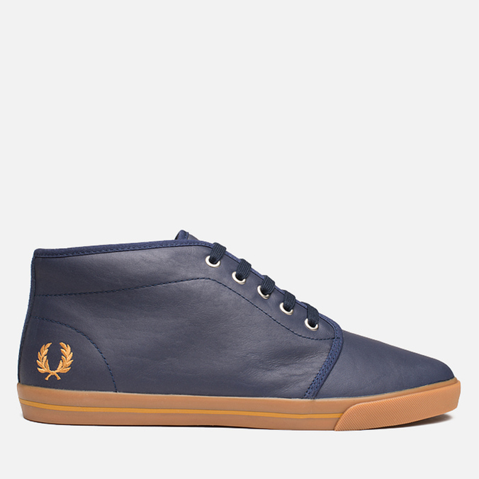 Мужские кеды Fred Perry Fletcher Carbon Blue